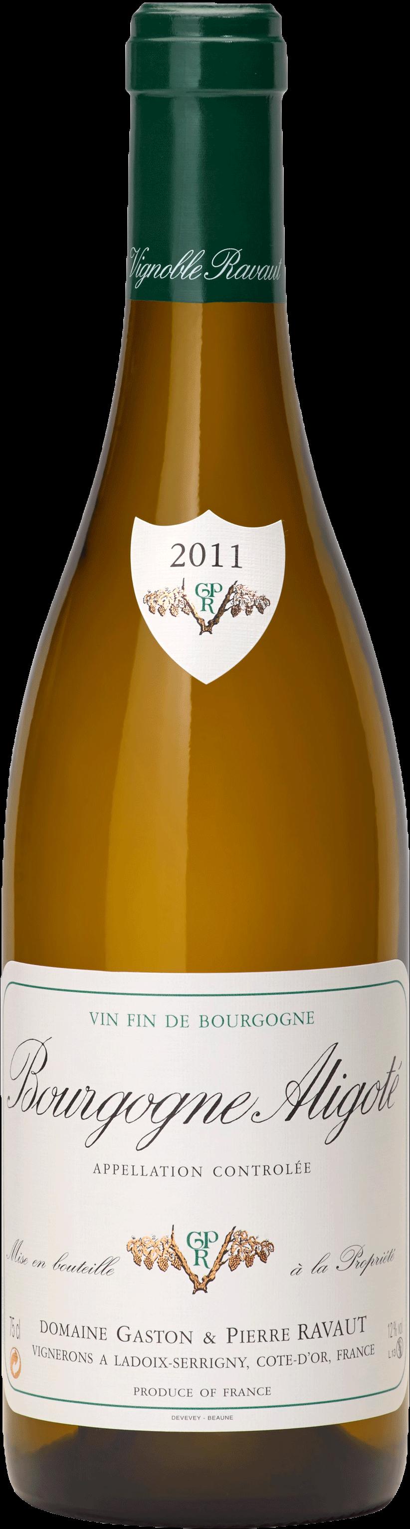 Bouteille <br />Bourgogne Aligoté 2015