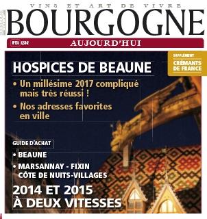 Article de presse «Bourgogne Aujourd'hui» Côte de Nuits Villages 2015