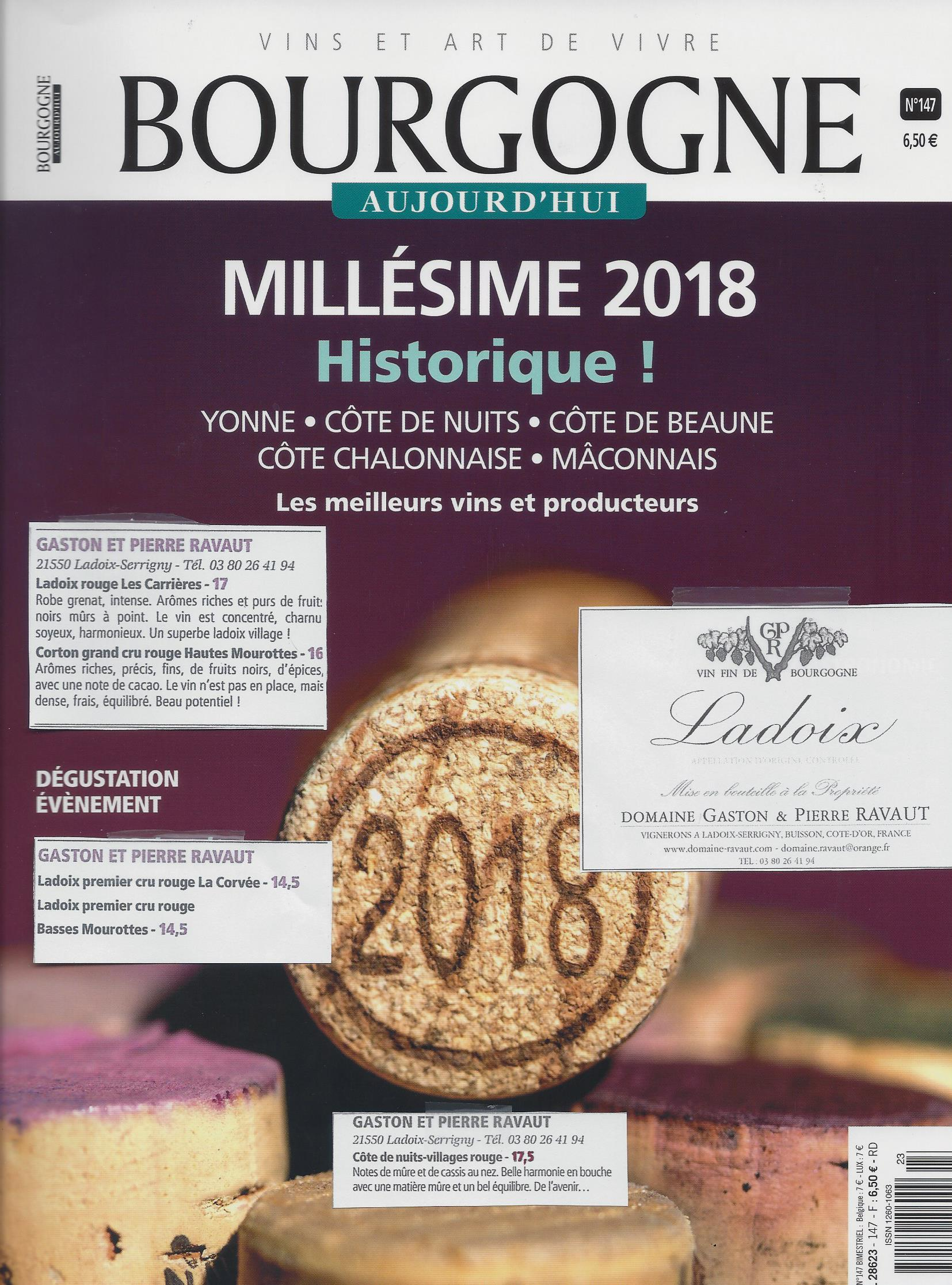 Bourgogne Aujourd'hui Juin 2019